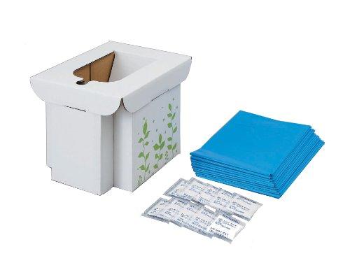 コジット緊急用組み立て式トイレ