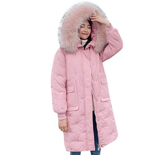 Geilisungren Abrigo para Mujer Invierno Mujeres Chaqueta Encapuchada Invierno Ropa de Moda...
