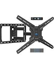"""Mounting Dream TV Wall Mount Swivel and Tilt, Full Motion TV Bracket with Articulating Arm for 42-70 Inch Flat/Curved Screen TVs, up to VESA 600x400mm and 80 LBS Fits 16"""" Studs, MD2653"""