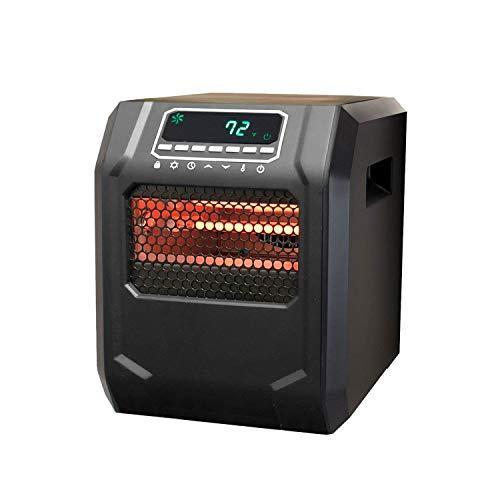 Lifesmart Zone Series 6-Element Infrared Heater, Black (HT1015)