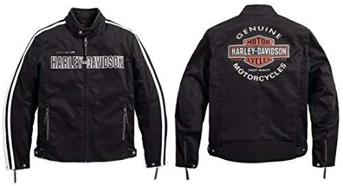 Harley-Davidson Rally Textile Riding Jacke, 98163-17EM, M