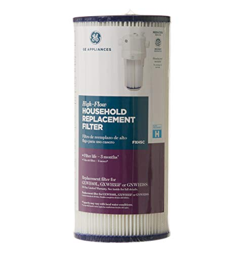 GE SmartWater FXHSC GE Replacement Water Whole House Filter, 10&quot (length) x 4.5&quot (diameter)