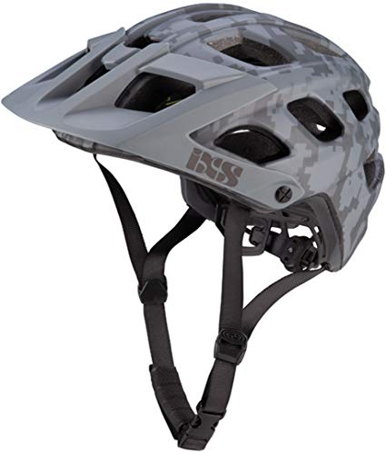 IXS Trail-MTB Helm Trail RS EVO Grau Gr. M/L