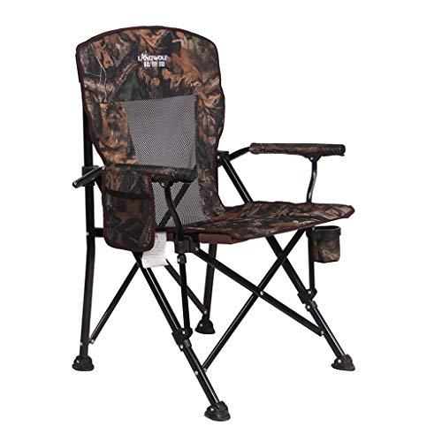 Hh001 Outdoor Klappstuhl Tragbarer Strandkorb mit 300 kg ohne Fischen Stuhl Freizeit Stuhl Tisch (Color : C)
