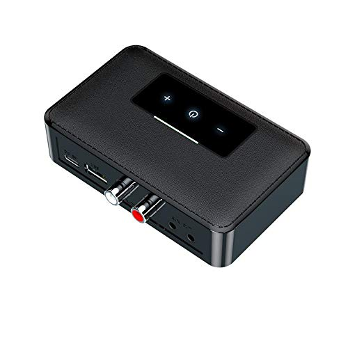 Tumnea Adaptador Bluetooth, transmisor Bluetooth de Audio 5.0, Receptor para TV, Sistema estéreo para computadora portátil, Auriculares, Altavoces - 3.5 mm