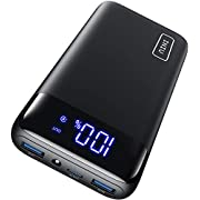 INIU Portable Charger, 18W PD3.0 QC4.0 Fast Charging LED Display 20000mAh Power Bank, USB C Battery Pack with Flashlight Compatible with iPhone 12 11 Pro X 8 Samsung S20 S10 Google LG iPad Tablet etc.