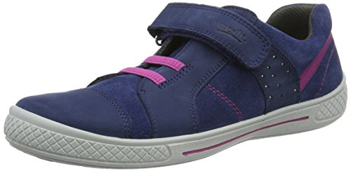 Superfit Tensy Mädchen Sneaker, Blau (Water Kombi 88), 27 EU