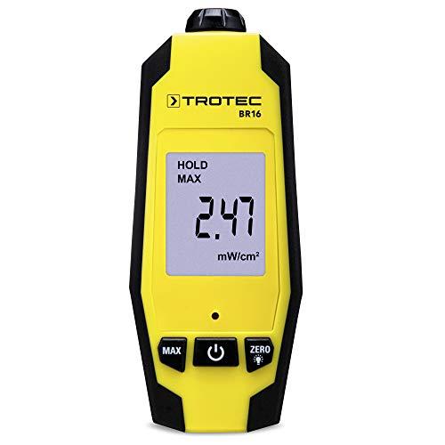 TROTEC Mikrowellen-Indikator BR16 Strahlungsmessgerät Strahlung Mikrowelle Messbereich von 0 bis 9,99 mW/cm²