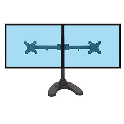 KIMEX 015-1251 Support de Bureau pour 2 écrans PC 13''-24''