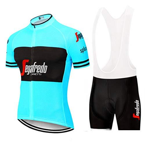 YDJGY Sommer Unisex Radsportbekleidung Radhose Mountainbike Reitanzug Atmungsaktiv Komfort, Schnell Trocknende Radsport-Wettbewerb