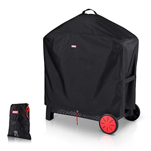 BARTSTR Premium Grillabdeckhaube 90 x 45 x 90 - Höchste Qualität für Deinen Grill - Grillabdeckung der Extraklasse