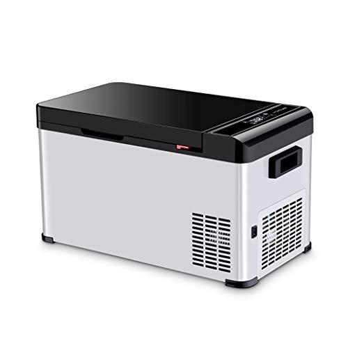 Old Street Autokühlschrank tragbarer Kühlschrank 18L Auto Mini-Kühlschrank Auto Home Dual-Use-Kompressor Kühlung 12V / 24V / 220V geeignet für Reisen, Party, Camping