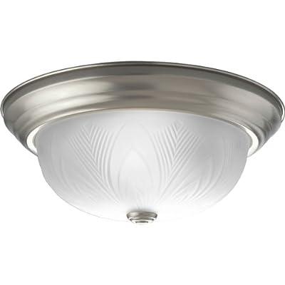 in Nickel 75-Watt equivalent MaxLite ML2G181TRNI 18-Watt Traditional Ceiling Fixture