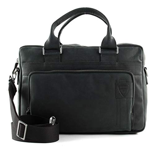 Strellson Richmond BriefBag MHZ Herren Leder Aktentasche