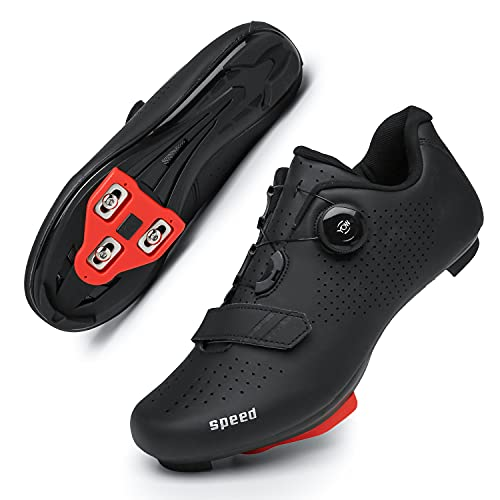 Peloton Shoes Womens Cycling Shoes with Delta Cleats Set Women Indoor Cycling Shoe SPD-SL Spinning Bike Shoes-Size 6