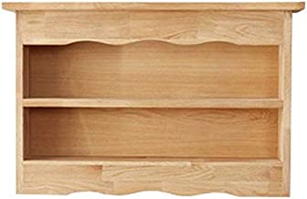 Home Living Museum/Free Punching Solid Wood Wall Rack Wall Hanging Wall Bedroom Word Partition Decoration Living Room TV W...