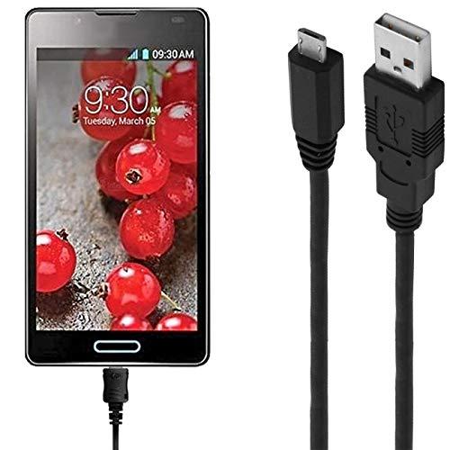 ASSMANN Ladekabel/Datenkabel kompatibel für LG Optimus L5 2 Dual - schwarz - 1m