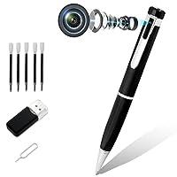 Dieser überlegene Stift bietet die höchste Videoauflösung von 1920 x 1080p Videobildrate 30fps. Das ist besser als jede Stiftkamera auf dem Markt. Diese Stiftkamera kann 2560 * 1440 JPG Bild nehmen. Hohe Kapazität Lithium-Batterie DC 5v outlasts alle...