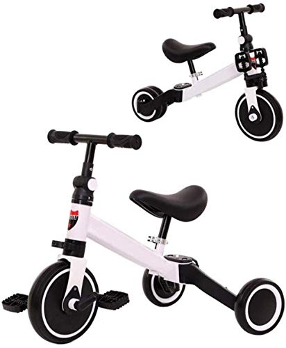Archivador plano Triciclos for niños Trikes Caballos niños del niño del niño Bicicleta 2 en 1 Triciclo triciclos al Aire Libre Bici del bebé Cubierta Triciclo niños 1-3-6 años