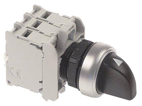 Aristarco instelknop voor vaatwasser AP55.40DA, AP55.40, AP1000, GL1040 compleet inbouwmaat ø22mm 2NC/1NO