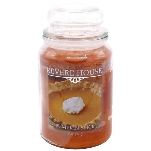 Candle-lite - Duftkerze im Glas, Pumpkin Spice 652g, Orange, 10 x 10 x 18.5 cm