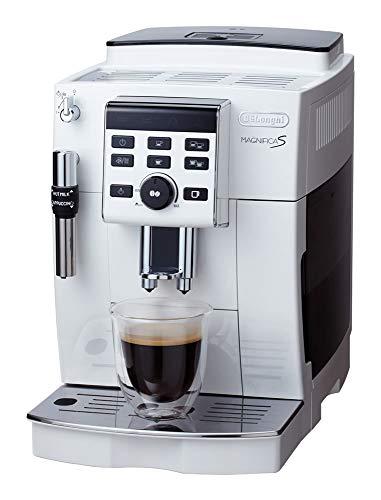 【スタンダードモデル】デロンギ(DeLonghi)コンパクト全自動コーヒーメーカー ホワイト マグニフィカS ECAM23120WN
