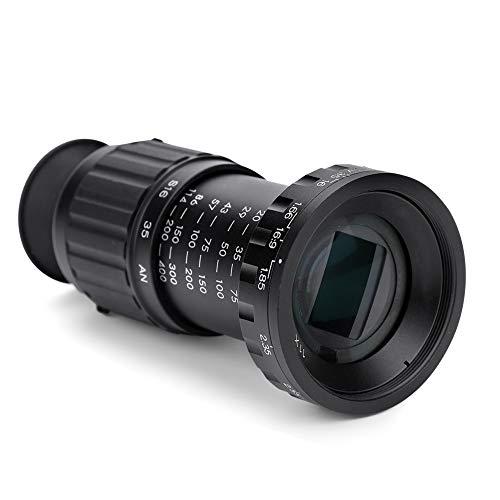Tonysa Viewfinder, VD-11X Micro HD Directors 11x Vergrößerungsfaktor Sucherlupe Scene Viewer mit einstellbarem hinterem Okular für die meisten Film- und Fernsehformate
