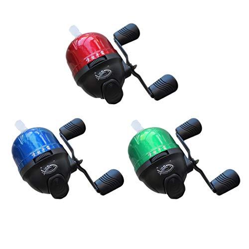 freneci Mulinello 3X Nylon Spincast Mulinello Under-Spin con Superficie Chiusa Acqua di Mare