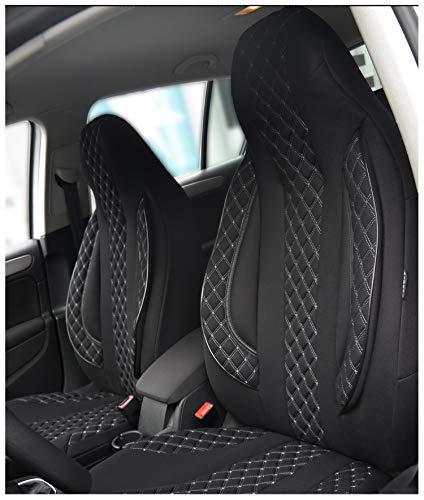 Maß Sitzbezüge kompatibel mit Mercedes C-Klasse W204 Fahrer & Beifahrer ab Farbnummer: PL408