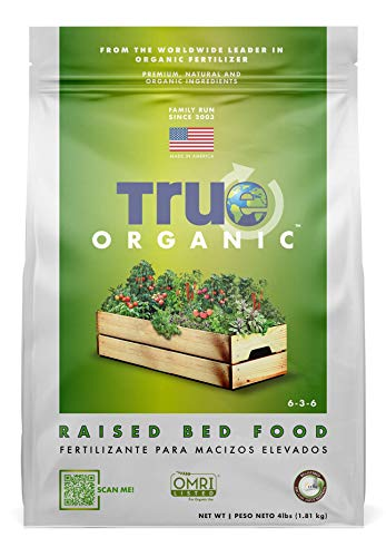 True Organic - Raised Bed Plant Food 4lbs - CDFA, OMRI, for Organic Gardening…