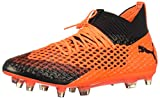 PUMA Men's Future 2.1 Netfit FG/AG Soccer Cleats (Sz. 12) Silver