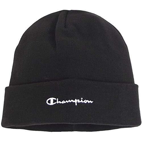 Champion Beanie 804671 F20 KK001 NBK Schwarz, Size:ONE Size