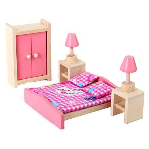 #N/V La habitación de los niños muñeca durable silla gabinete material de juguete seguro accesorios de juego