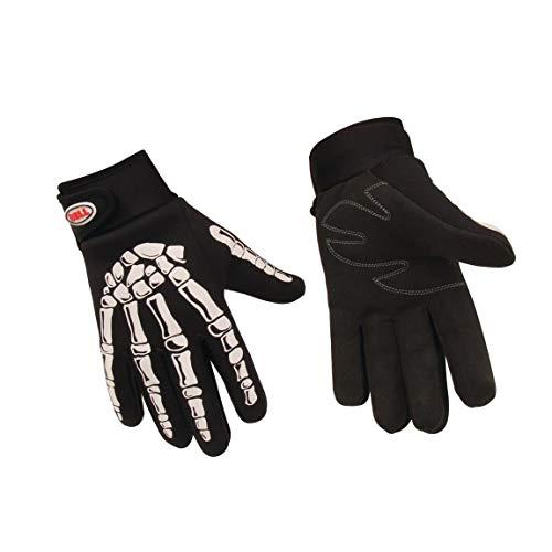 Bell 3924-BLK-M Skeleton Mechanic Gloves