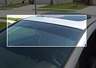 TRUE LINE Automotive Precut Windshield Sun Visor Window Tint Strip for Jaguar XJl Type 4 Door Sedan 2010-2015