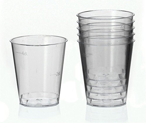 Ol-Gastro-behoefte 2000 borrelbeker borrelglas plastic beker medicijnbeker wegwerp 2cl - 4cl