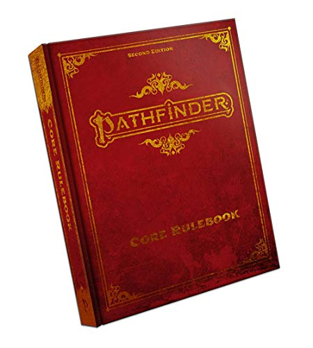 Compare Textbook Prices for Pathfinder Core Rulebook Special Edition P2 Special Edition ISBN 9781640781696 by Bulmahn, Jason,Bonner, Logan,Radney-MacFarland, Stephen,Seifter, Mark