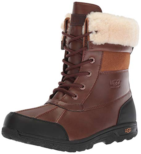 Koolaburra by UGG baby girls Victoria Short Fashion Boot, Chestnut, 8 Toddler US
