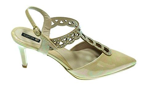 ARGENTA Zapatos Anchos Especiales con Tacon 25031 para Mujer