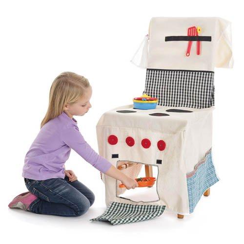 Stuhlhusse Stuhlküche Kinderküche Spielküche Rollenspiele
