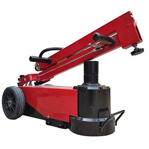 QINAIDI Zusammenklappbarer Elektrohydraulischer Wagenheber - 50T 100T Horizontaler Hydraulischer Wagenheber des Elektrischen Anhängers