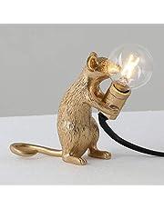 Tenflyer Mouse lamp, tafellamp muis vorm hars beheer licht nachtlampje woonkamer decor