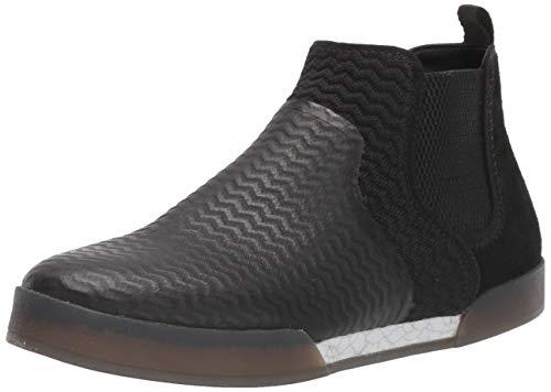 Dr. Scholl's Shoes Men's Sparkes Ankle Boot, Black Leather, 10.5 M US