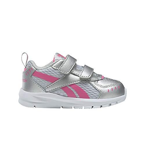 Reebok XT Sprinter 2v TD, Zapatillas de Running Mujer, Plamet Rossol Blanco, 38 EU