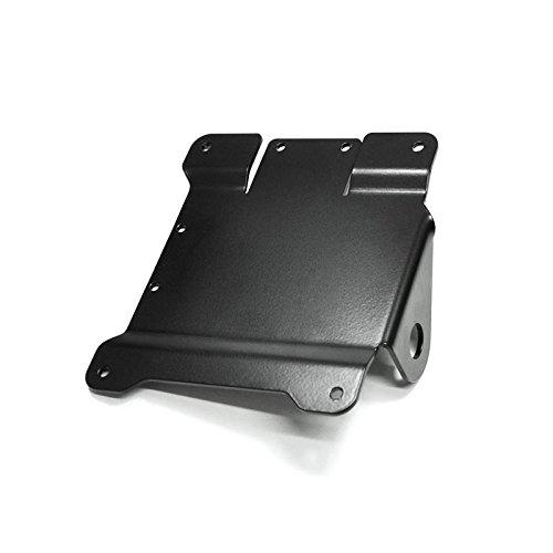 IBEX 10000830 seitlicher Kennzeichenhalter Kennzeichenträger Nummernschildhalter Nummernschildhalteplatte Universal D20