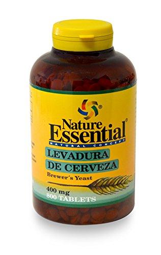 Levadura de cerveza 400 mg. 800 comprimidos | Nature Essential