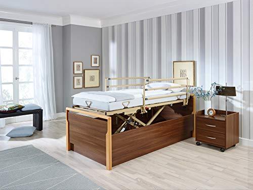Pflege- und Seniorenbett Lippe IV 90x200 cm, Betteinsatz, Einlegerahmen, Burmeier