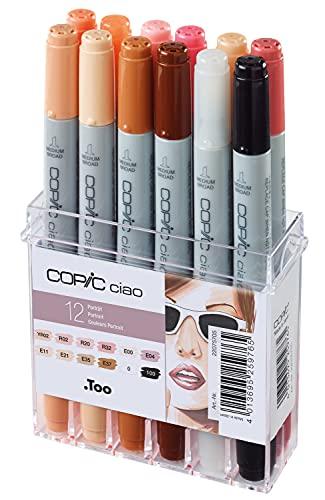 Copic Ciao 12 Piece Marker Set - Skin Tone