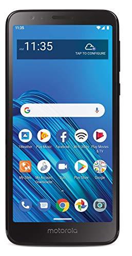 Net10 Motorola Moto E6 4G LTE Prepaid Smartphone (Locked) - Black - 16GB - Sim Card Included - CDMA (NTMTXT2005DCWHP)