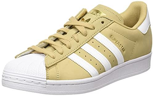 adidas Superstar, Sneaker Hombre, Beige Tone/Cloud White/Gold Metallic, 39 1/3 EU